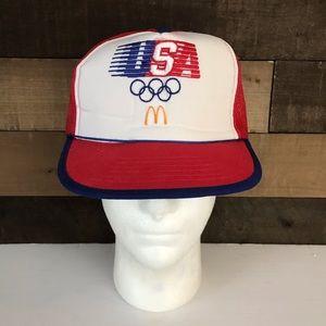 Usa olympics 1984 McDonald's hat